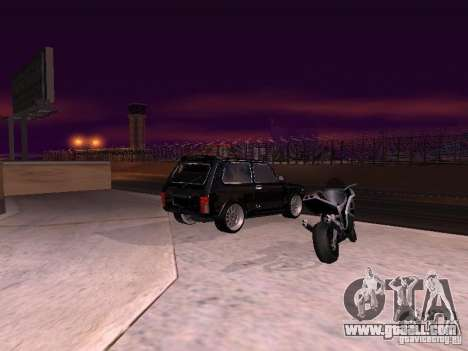 VAZ 2121 Tuning for GTA San Andreas left view