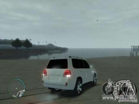 Toyota Land Cruiser 200 FINAL for GTA 4 inner view