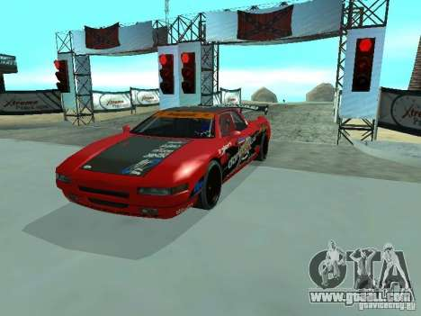 Infernus Drift Edition for GTA San Andreas