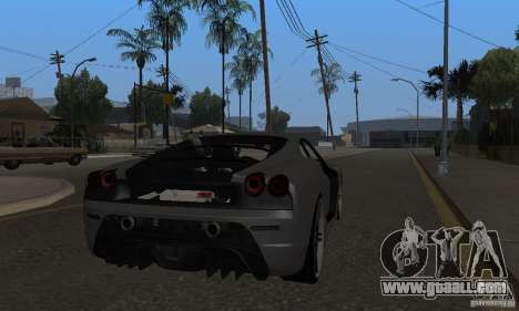 Ferrari 430 Scuderia Novitec for GTA San Andreas right view