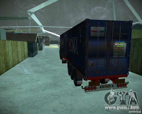 Container for GTA San Andreas