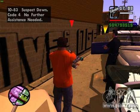 Chasing machines for GTA San Andreas fifth screenshot