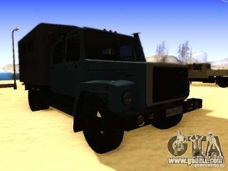 GAZ 3309 double row for GTA San Andreas right view