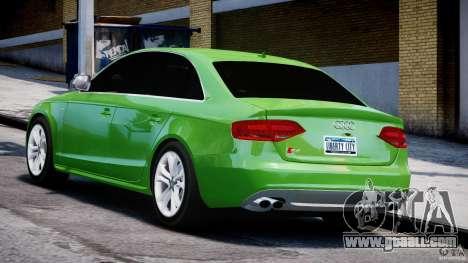 Audi S4 2010 v1.0 for GTA 4 back left view