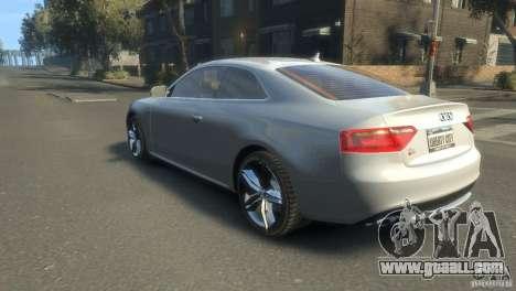Audi S5 1.1 for GTA 4 left view