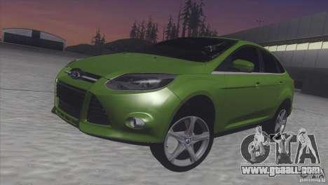 Ford Focus sedan for GTA San Andreas