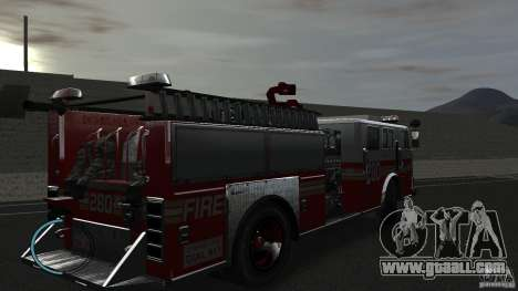 NEW Fire Truck for GTA 4 right view