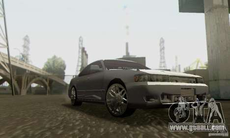 Toyota Cresta JZX90 for GTA San Andreas back view