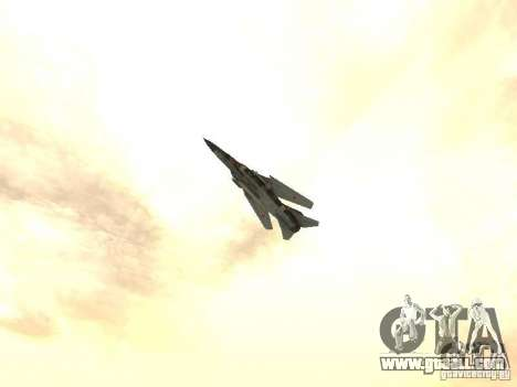 Mikoyan-Gurevich Mig-23 for GTA San Andreas right view