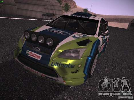 Ford Focus RS WRC 2006 for GTA San Andreas