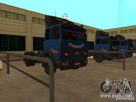 MAZ 5432 YAMZ-238b 4 x 2 for GTA San Andreas