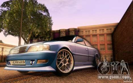 Toyota Chaser JZX100 for GTA San Andreas interior