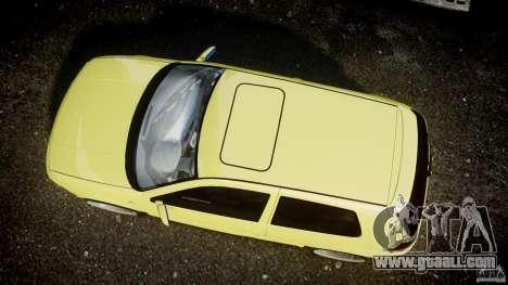 Volkswagen Golf IV R32 for GTA 4 back view