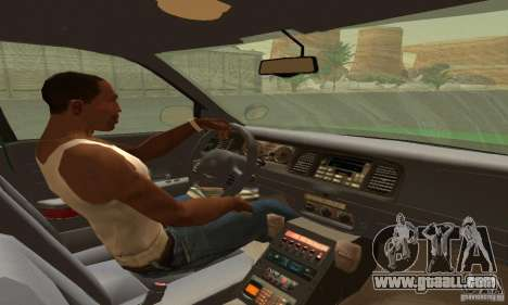 Ford Crown Victoria Vermont Police for GTA San Andreas back left view