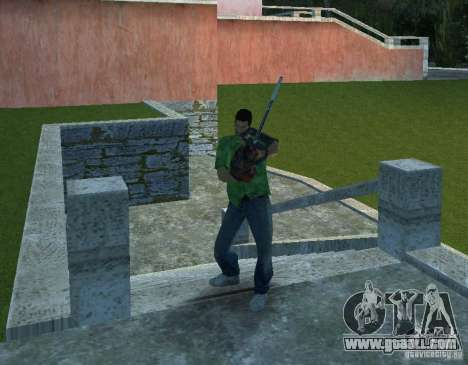 Chainsaw for GTA Vice City forth screenshot