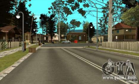 New Grove-Street for GTA San Andreas