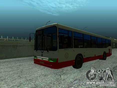 Nefaz 5299 10-32 for GTA San Andreas right view