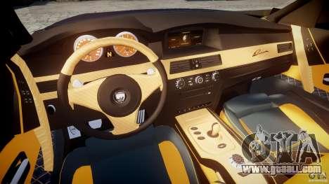 BMW M5 Lumma Tuning [BETA] for GTA 4 back view