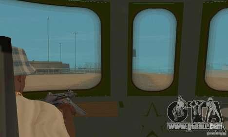 Custom Graffiti Train 1 for GTA San Andreas back view
