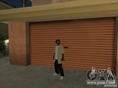 Snoop Dogg Ped for GTA San Andreas second screenshot