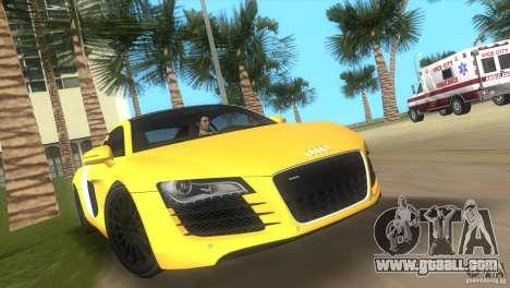 Audi R8 V10 TT Black Revel for GTA Vice City