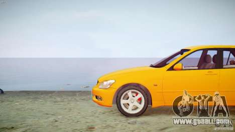 Toyota Altezza Gita Version 2 for GTA 4 back view