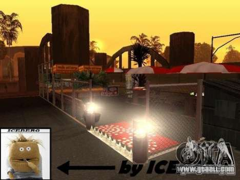 Nev Groove Street 1.0 for GTA San Andreas fifth screenshot