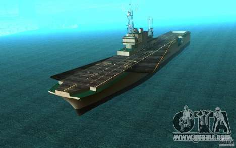 New Aircraft carrier for GTA San Andreas