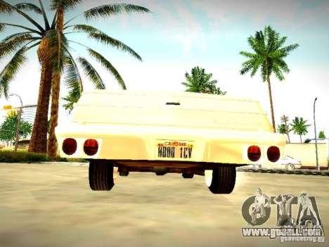 Chevrolet El Camino 1976 for GTA San Andreas right view