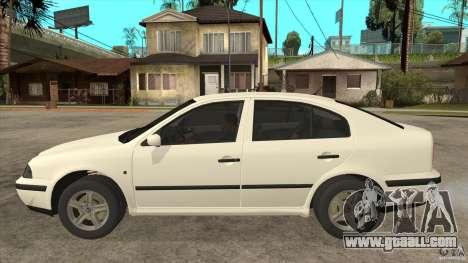 Skoda Octavia 1997 for GTA San Andreas left view