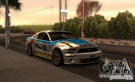 Ford Mustang GT-R for GTA San Andreas upper view