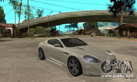 Aston Martin DBS for GTA San Andreas back view