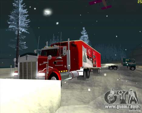 The trailer for the Trailer of Coca Cola for GTA San Andreas left view