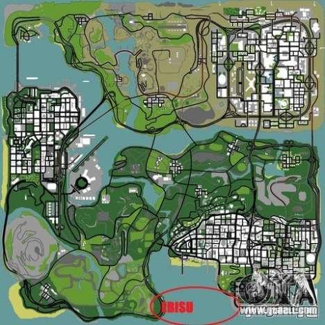 The Ebisu South Circuit for GTA San Andreas tenth screenshot