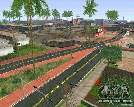 New Textures Of Los Santos for GTA San Andreas third screenshot