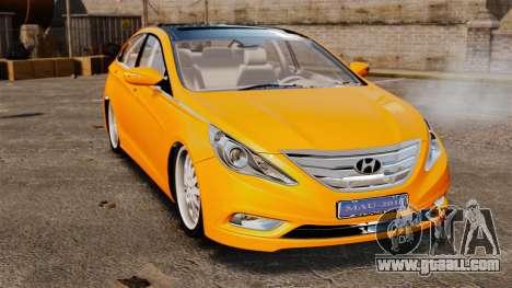 Hyundai Sonata 2011 v2.0 for GTA 4