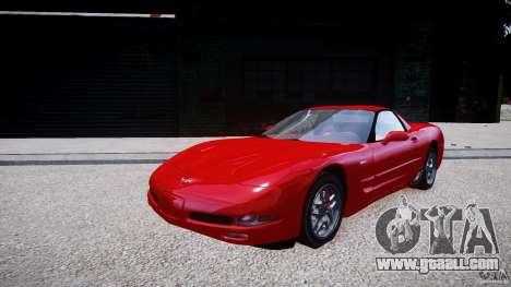 Chevrolet Corvette C5 v.1.0 EPM for GTA 4