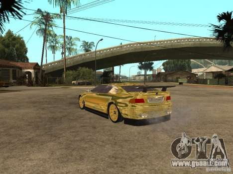 BMW M3 Goldfinger for GTA San Andreas left view