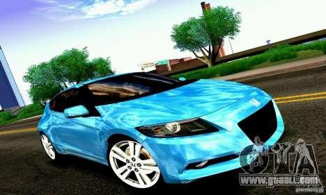 Honda CR-Z 2010 V2.0 for GTA San Andreas