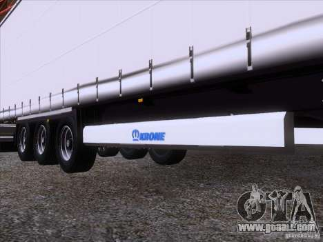 Trailer artict1 for GTA San Andreas side view