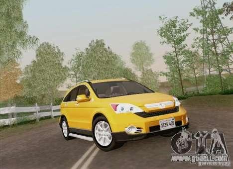 Honda CRV 2011 for GTA San Andreas side view