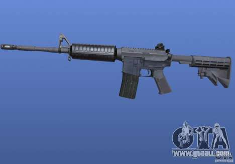 M4 Texture for GTA 4