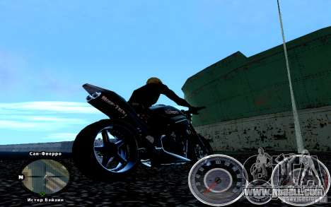 Script Chevrolet Camaro Spedometr for GTA San Andreas second screenshot