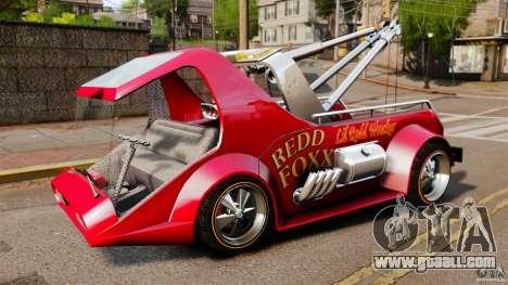 Lil Redd Wrecker for GTA 4 left view