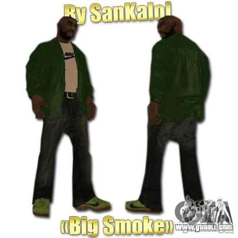 New Sweet, Smoke and Ryder v1.0 for GTA San Andreas third screenshot