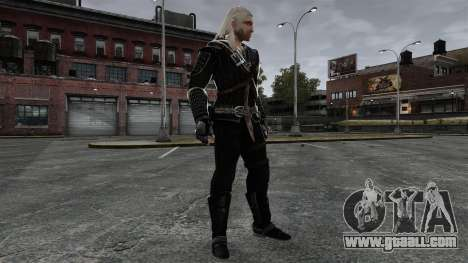 Geralt of Rivia v7 for GTA 4 fifth screenshot