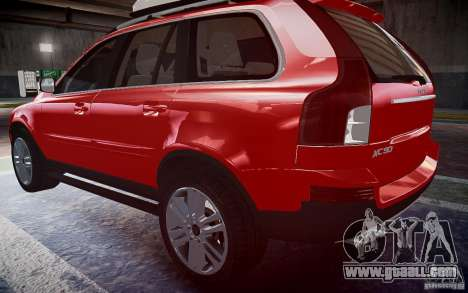 Volvo XC 90 for GTA 4 left view