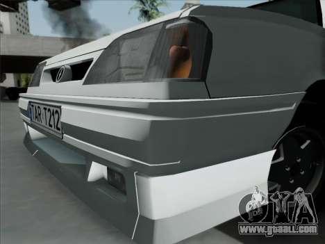 FSO Polonez Caro Orciari 1.4 GLI 16v for GTA San Andreas back left view