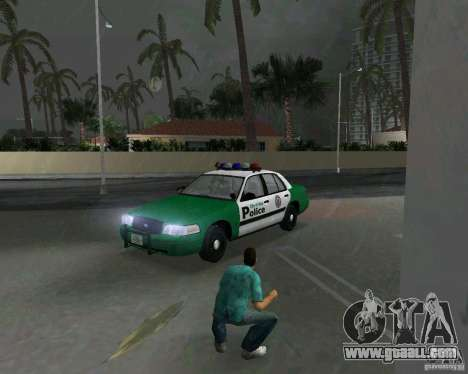 Ford Crown Victoria 2003 Police for GTA Vice City left view