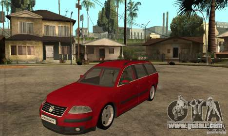 VW Passat B5+ Variant for GTA San Andreas
